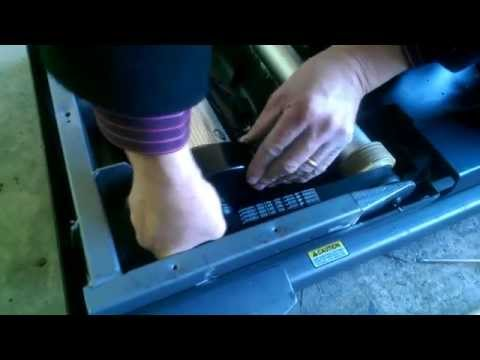 How to change the drive belt on a  Nordic Track C2000/C2500 treadmill