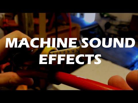 Machine Emanation Sound Effects Library