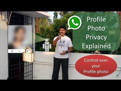 WhatsApp Profile photo - Privacy - Explained