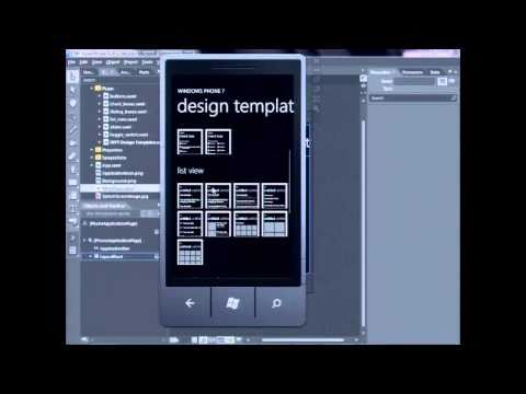 Windows Phone 7 design template