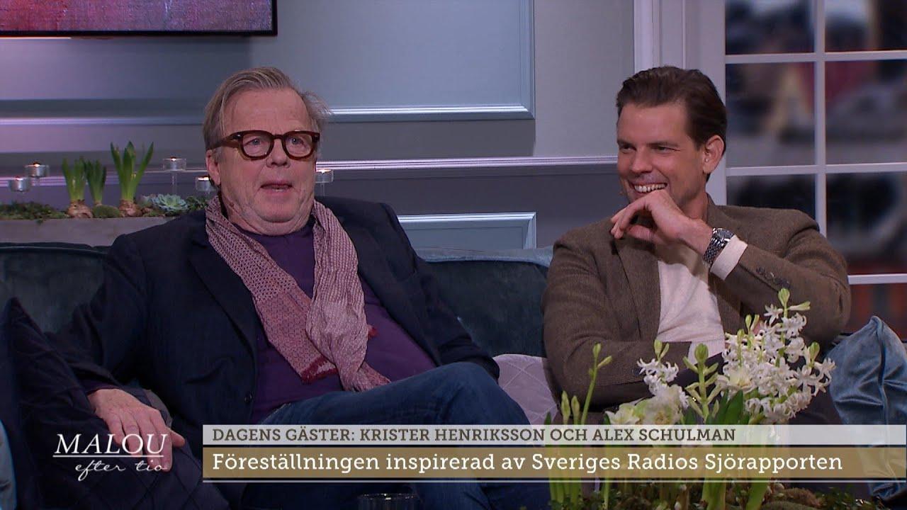 """Krister Henrikssons känga till Alex Schulman: """"Jag ville plocka ner honom"""" - Malou Efter tio (TV4)"""