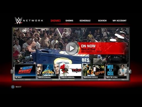 Exploring the PS3 Version of the WWE Network App
