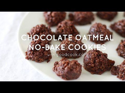 Chocolate Oatmeal No-Bake Cookies | Good Cook
