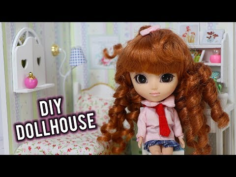 DIY Dollhouse Room! Cute Roombox Kit for Mini Pullip, LPS or Miniature Dolls!