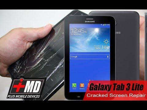 Galaxy Tab3 Cracked Screen Repair