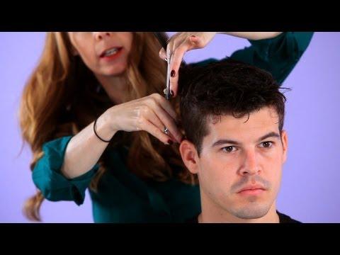 How to Cut a Man's Hair in Layers | Hair Cutting