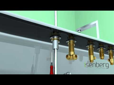Installing Isenberg's Deck Mounted Roman Tub Filler Faucet with Hand-shower 160.2420