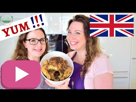 SUNDAY ROAST Recipe with Chicken and Cauliflower Cheese | A proper British family feast