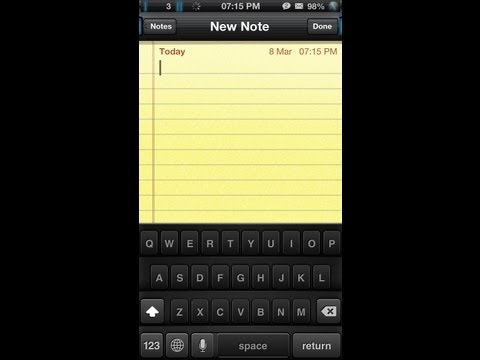 How to change keyboard color/theme on iOS 6