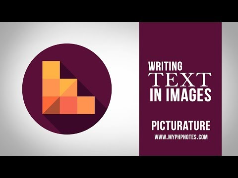 Writing Text into Images with PHP - Picturature