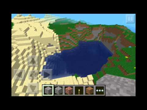 Minecraft PE Seed: Ocean filled with Islands