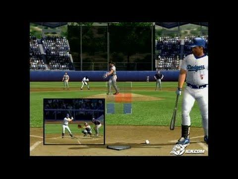 MVP Baseball 2005 GameCube Gameplay - Swing, biotch!