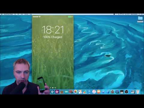 View & Record your iPhone screen with QuickTime on a Mac