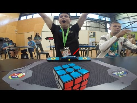 Rubik's Cube World Record 4.73 Feliks Zemdegs Slow Motion