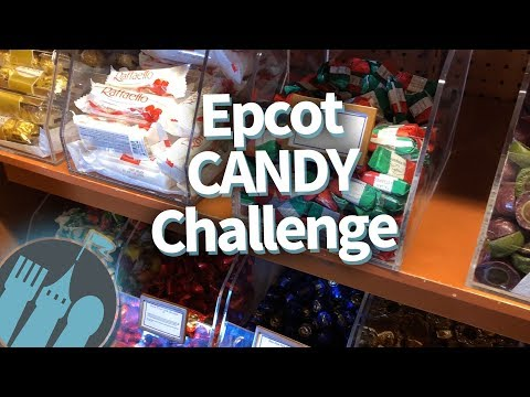Disney World Epcot Candy Challenge: Candy Review From Every Epcot Country!