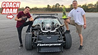 Took Leroy DRIFTING w/Adam LZ!! It Was an EPIC Time!