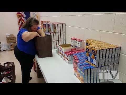Around the Parish: 2017 Thanksgiving Basket Donations