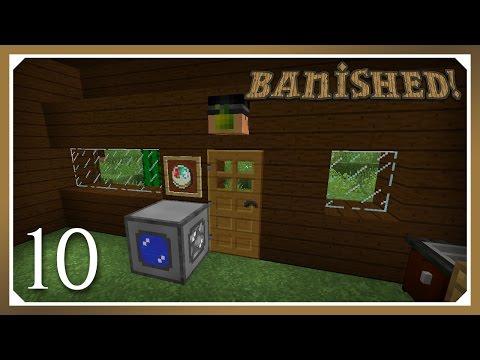 Minecraft Banished Modpack | Cobblestone Generator | E10 (Harsh Survival Minecraft 1.10.2)