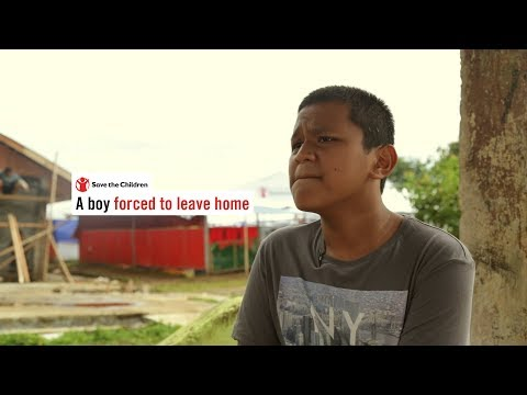 WATCH: A boy forced to leave home