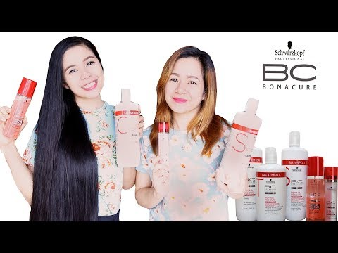 One Brand Hair Care Routine For Dry & Damaged Hair- Schwarzkopf Bonacure Repair Rescue