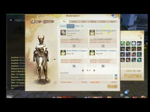 Where to get your labor potion for 5 credits Archeage event