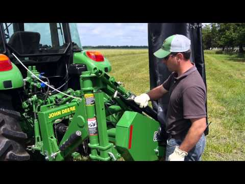 John Deere Frontier Equipment: Notes From The Field - DM50 Series Disc Mower