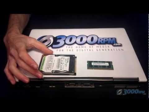 How To Upgrade / Replace / Change Laptop RAM Memory and Hard Drive