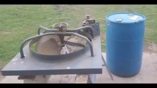 Making a Chicken Plucker & ( trial & error )