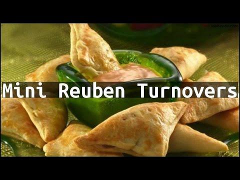 Recipe Mini Reuben Turnovers