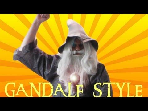 GANDALF STYLE - Parody of PSY - GANGNAM STYLE (강남스타일) M/V
