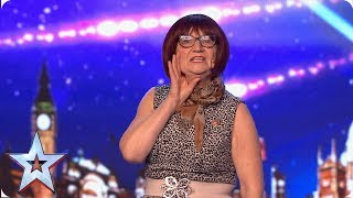FIRST LOOK: Will Barbara Nice's naughty one-liners win over the Judges? | BGT 2019