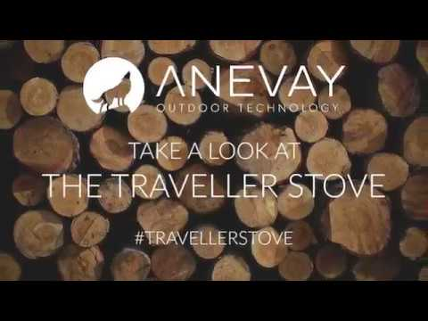 ANEVAY Traveller Stove for Tipis, Yurts and Vans