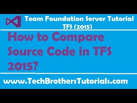 How to Compare Source Code in TFS 2015 - Team Foundation Server 2015 Tutorial