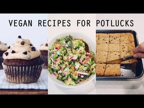 Easy Vegan Recipes for Potlucks & Parties