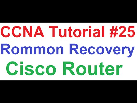 CCNA 25_Cisco Router Rommon Recovery_How to Get Cisco Router Out Of Rommon Mode