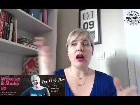 Wake Up & Shake Up - 5 mins of motivation for Mamapreneurs #3C