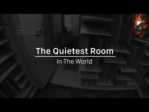 The quietest room in the world!