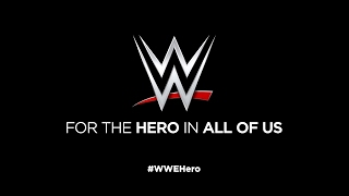 """WWE recognizes the """"Hero in All of Us"""""""