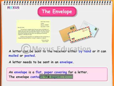 Learn English - How to write a Formal Letter?