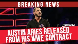 BREAKING NEWS: Austin Aries Released From His WWE Contract