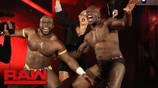 Titus Worldwide vs. Sheamus & Cesaro: Raw, Jan. 8, 2018
