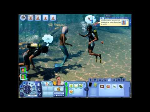 The Sims 3 Island Paradise - How To Become A Mermaid
