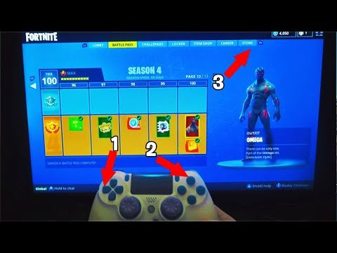 How To Get SEASON 4 Max Battle Pass Tier 100 ALL ITEMS in Fortnite! (SECRET Battle Pass Tier 100)