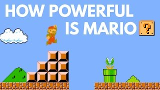 How Powerful Is Mario?   Science Of Super Mario