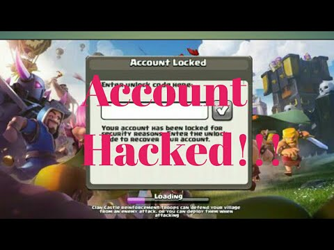 How to open anyone Clash of clans Account easily September 2017