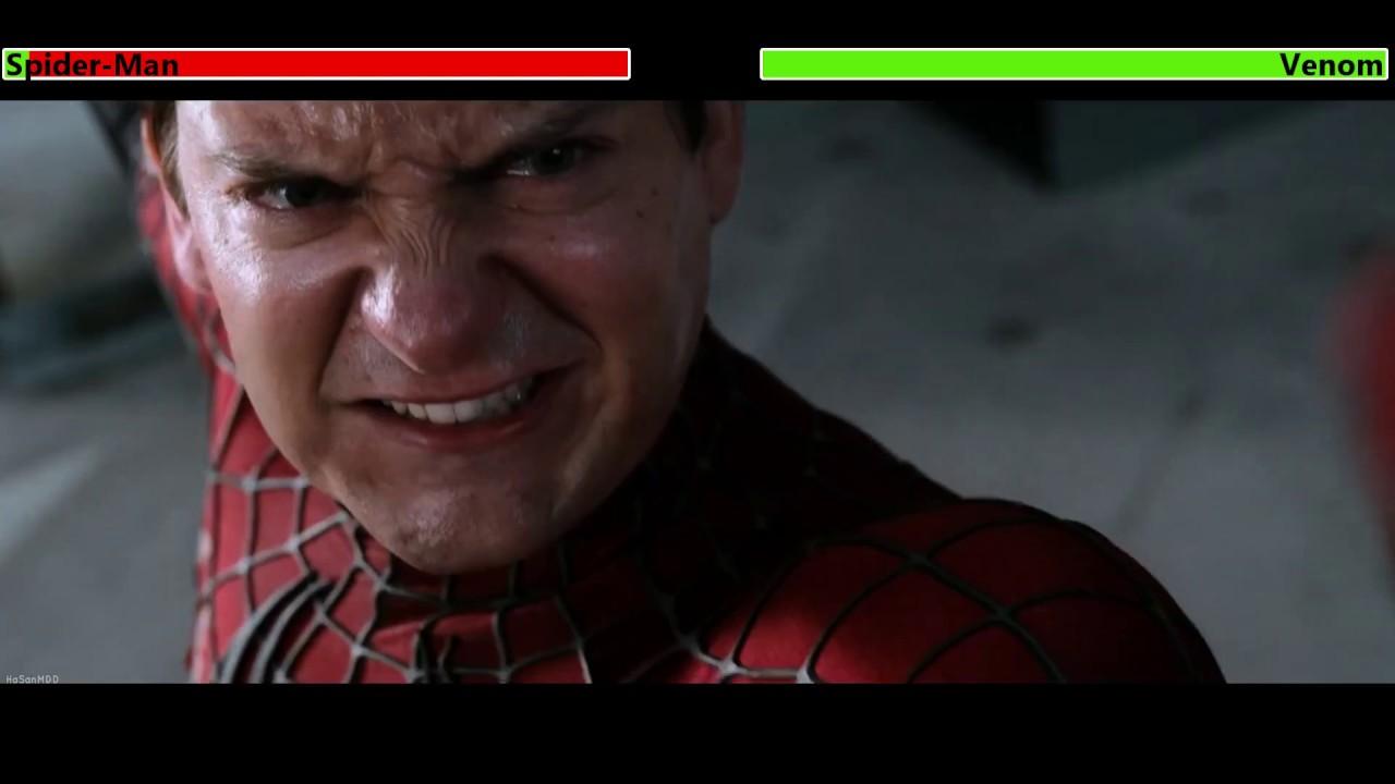 Spider-Man 3 (2007) Final Battle with healthbars