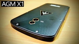 "WATERPROOF & SHOCKPROOF Smartphone AGM X1 Review (5.5"" SAMOLED, 5400 mAh, Sd 617, 4GB+64GB)"