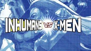 Inhumans Vs. X-Men: Inside Marvel HQ