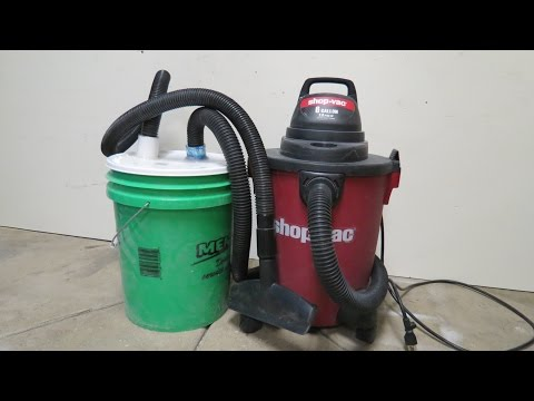 Cheapest  DIY Dust Collection System
