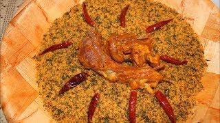 #x202b;كسكسي بأوراق الجزر 😍👌👌 أكلة تقليدية ڨديمة ( إكناف بالرجعة ) من الوسط التونسي#x202c;lrm;